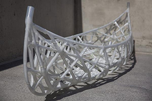 Canoe with 3D printed formwork