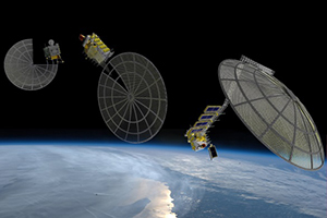 3D print complex hardware in space-like environment