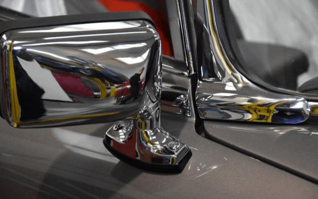 Jaguar door mirror 3D printed