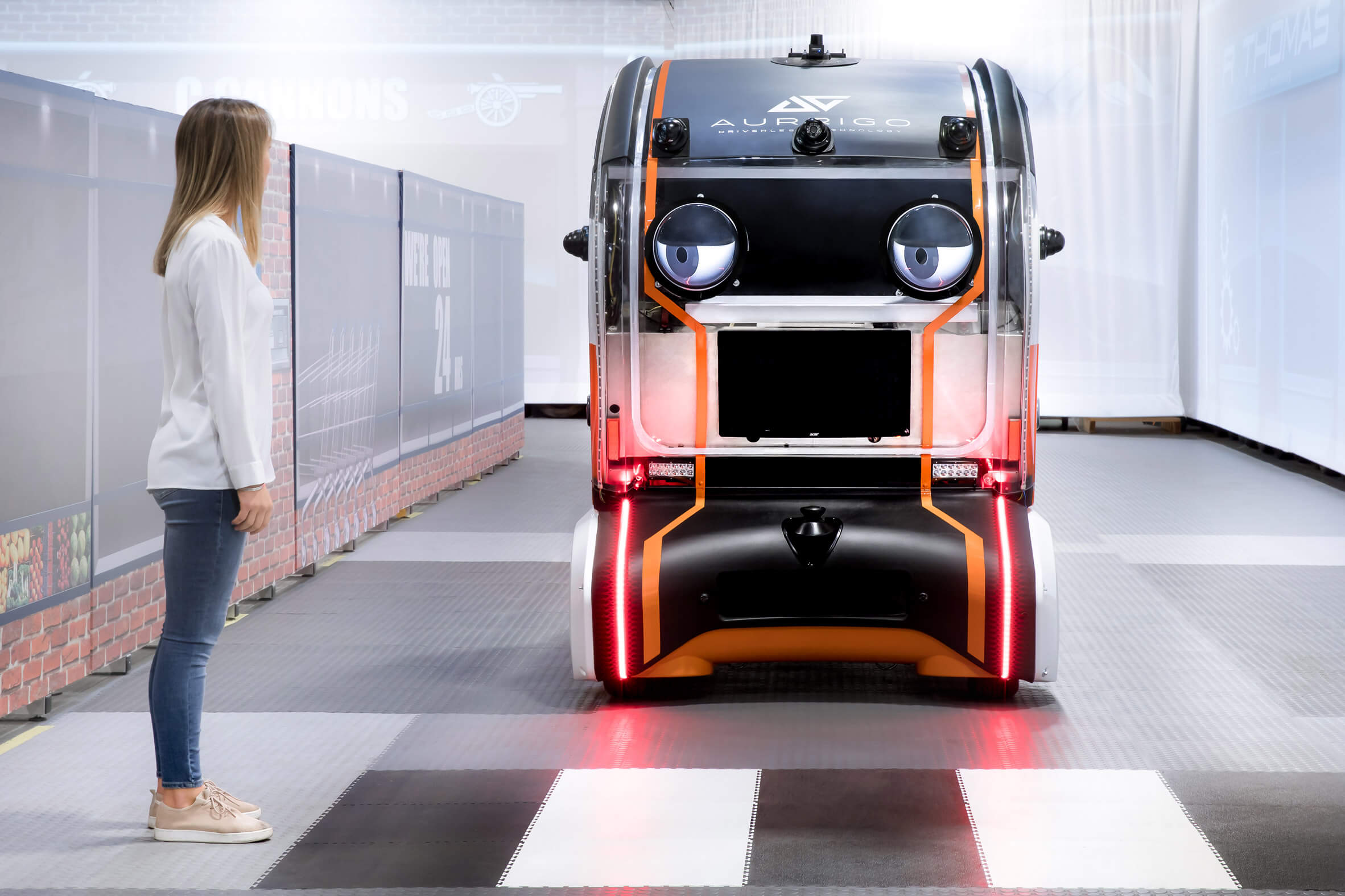 self-driving car from Jaguar Land Rover