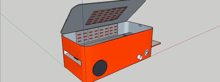 2020 STEM Challenge toaster for a blind person