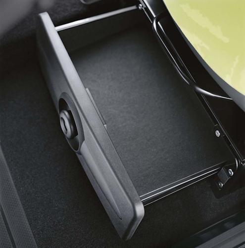 Smart Fortwo under seat storage
