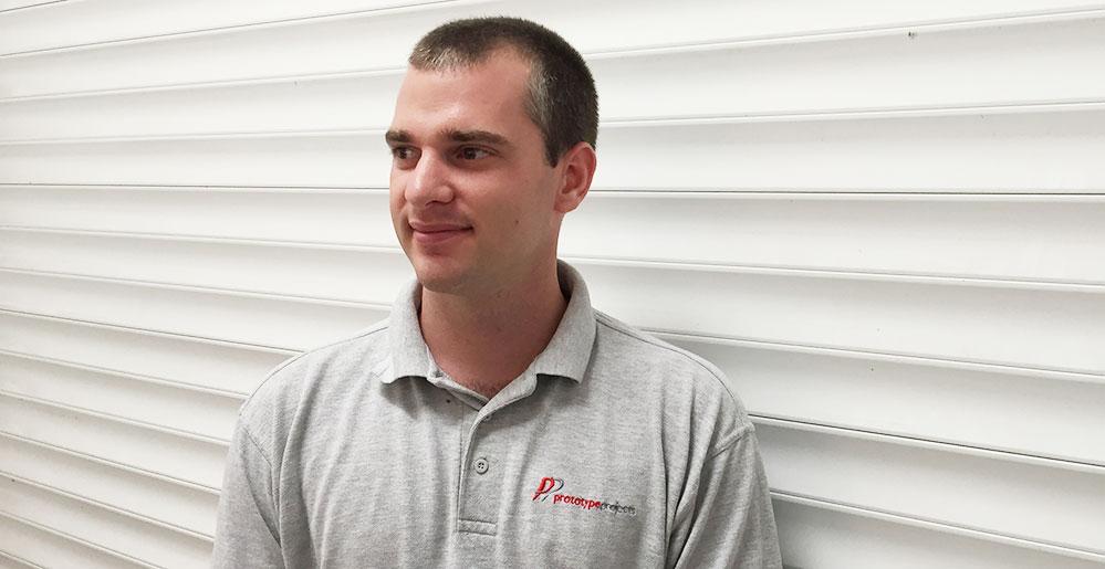 Ian Reinemann, CNC Manager