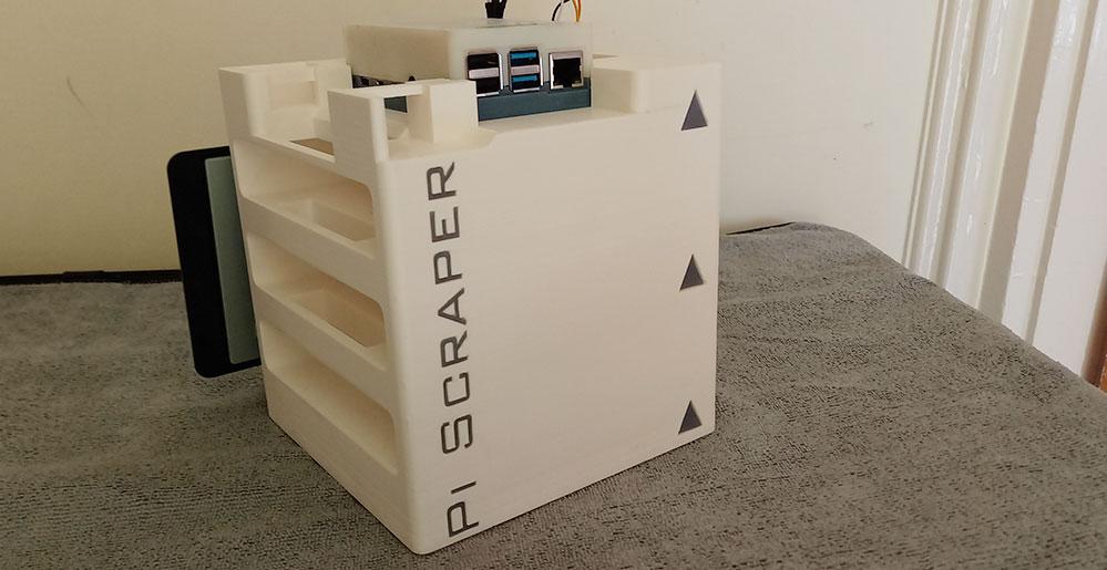 Pi Scraper Oscar Moden professional prototyping