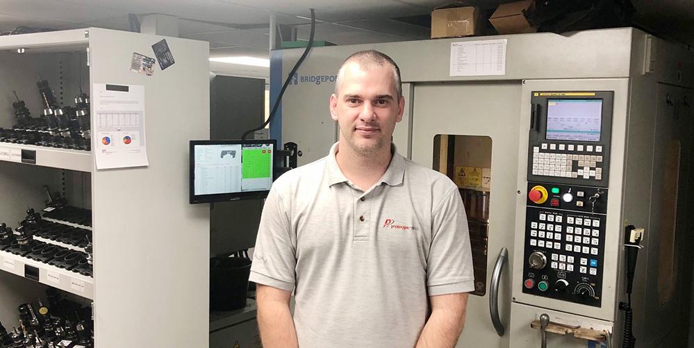 Ian Reinemann CNC Manager